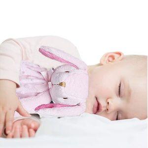 Pro Goleem Soft Pink Bunny Security Blanket Lovey
